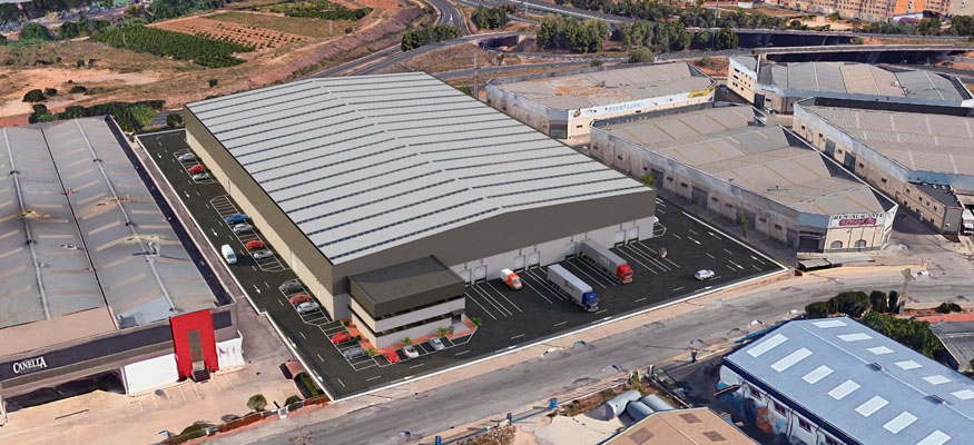 nave industrial logistica picassent valencia